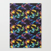 carnival Canvas Prints featuring Carnival by kociara