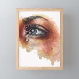 Hoping To See The Sun Framed Mini Art Print