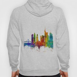 Frankfurt Germany Skyline Hoody