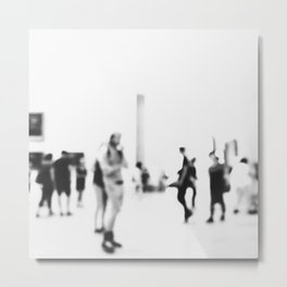 Blurring art Metal Print