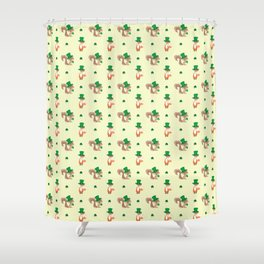 ANIMALS WITH HATS Shower Curtain