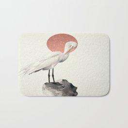 White Wings Bath Mat