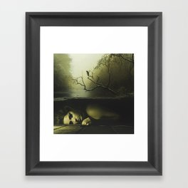 Forever lost Framed Art Print