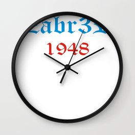 Koszulka Polski Gornik Zabrze Poland Polish Wall Clock