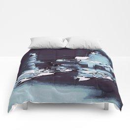 UNDERWATER ROCKS Comforters