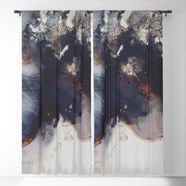 left to smolder Blackout Curtain