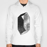 mineral Hoodies featuring Moon Mineral by Mood/Wood