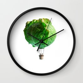 Iceberg Balloon Wall Clock