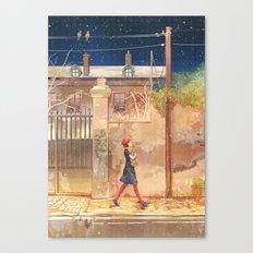 baguette Canvas Print