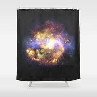 leo Shower Curtains featuring LEO by jerbing