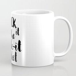 Chuck it the fuck-it bucket Coffee Mug