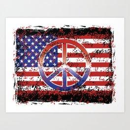 American Peace Art Print