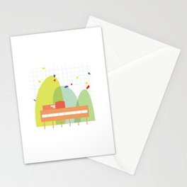 architecture - le corbusier Stationery Cards
