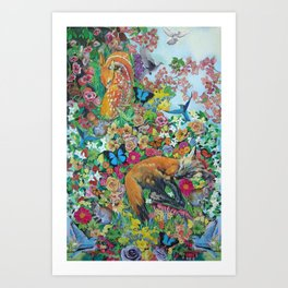 Everything and so much of it Art Print