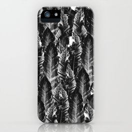 Black Vibes #1 #tropical #foliage #decor #art #society6 iPhone Case