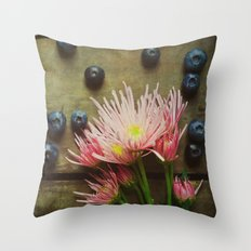 Rustic Spring Throw Pillow