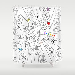 Equality Shower Curtain