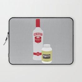 Vodka & Aspirin Laptop Sleeve