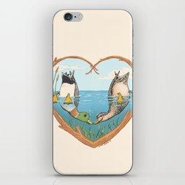 Duck Love iPhone Skin