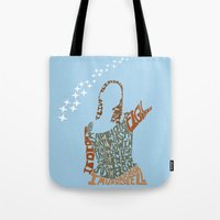 buffy the vampire slayer Tote Bags featuring Under your spell - buffy the vampire slayer by Rebecca McGoran