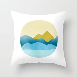 Ode to Pacific Northwest 1 Throw Pillow