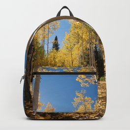 Crested Butte Colorado Fall Colors Panorama - 3 by OLena Art Backpack