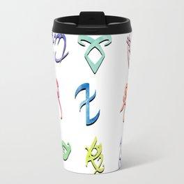 Watercolour Runes: V.2 Travel Mug