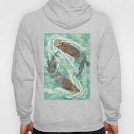 Two Otters Hoody