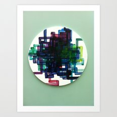 Pi Chart Art Print