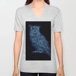 Eagle Owl Unisex V-Neck