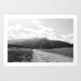 Boney Trail 12 Art Print