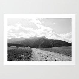 Boney Trail 12 Art Print