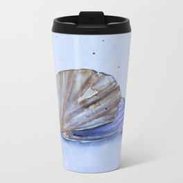 The great scallop - Pecten maximus Metal Travel Mug
