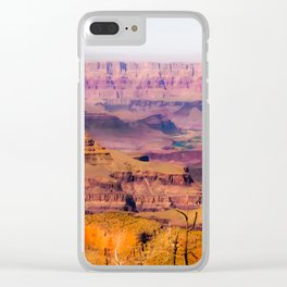desert view at Grand Canyon national park, USA Clear iPhone Case