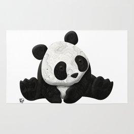 Lace Agate Panda Rug