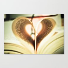 Love to Read. Canvas Print