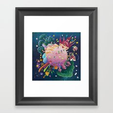 Games in orbite Framed Art Print
