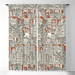 Hong Kong toile de jouy Blackout Curtain