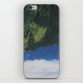mountains love you iPhone Skin