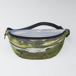 USA Niguel Shores Nature Sky Pond Scenery Lawn Clouds landscape photography Fanny Pack