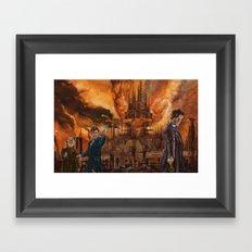 Saviour of Gallifrey Framed Art Print