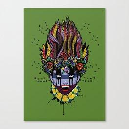 Mystical Feg the Vampire Priestess  Canvas Print