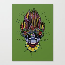 Mystical Feg the Vampire Priestess  Canvas Print