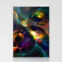 universe Stationery Cards featuring Universe by Robin Curtiss