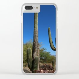 Life In The Desert Clear iPhone Case