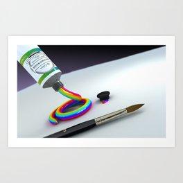 The Creative Desire by THE-LEMON-WATCH Art Print