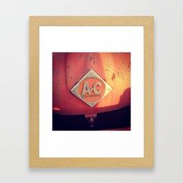 Allis-Chalmers Framed Art Print