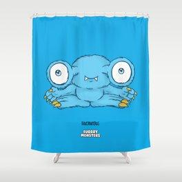 Bluemungus Shower Curtain
