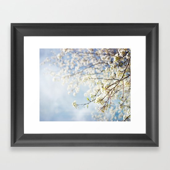 The Day Flew Away to the Sky Framed Art Print