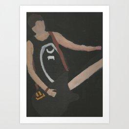 Ba(e)ssist Art Print
